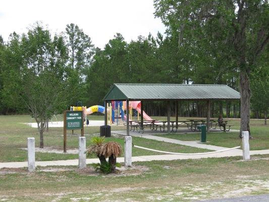 Wellborn Park Pavilion